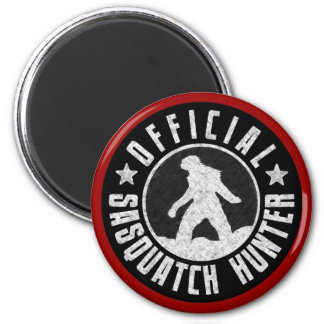 Best Version - OFFICIAL Sasquatch Hunter Design Refrigerator Magnet