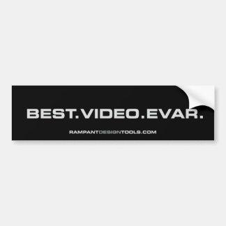 Best Video Evar - Rampant Bumper Sticker