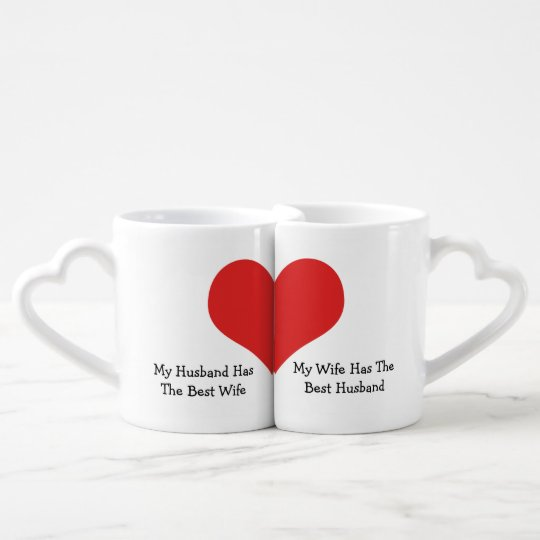 Best Wife Best Husband Humour Love Heart Coffee