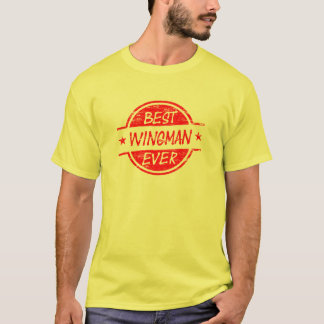 Best Wingman Ever Red T-Shirt