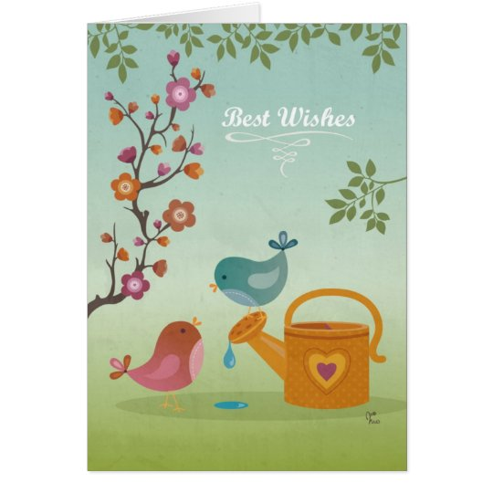 Best Wishes Card