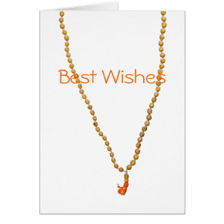 Best Wishes Hare Krishna Greeting Card