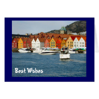 Best Wishes, Life on the waterfront Card