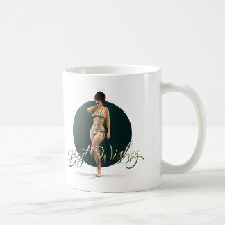 Best Wishes Olympia Basic White Mug