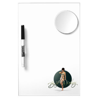 Best Wishes Olympia Dry Erase Whiteboard