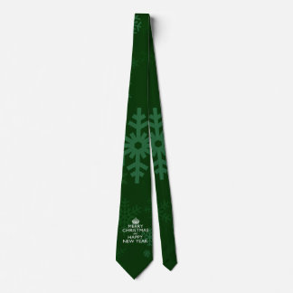 Best Wishes on Keep Calm Crown Green Tie