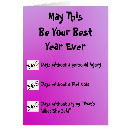 Best year ever greeting card zazzle for Best holiday cards ever