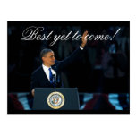 Best Yet to Come OBAMA Historical Re-election Post Card