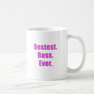 Bestest Boss Ever Coffee Mug