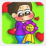 Bestest Boyfriend Sticker