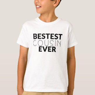Bestest Cousin Ever Boys Shirt
