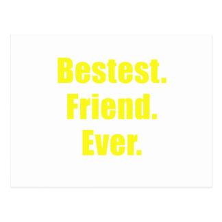 Bestest Friend Ever Postcard