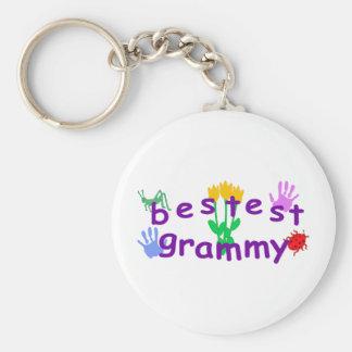 Bestest Grammy Key Ring