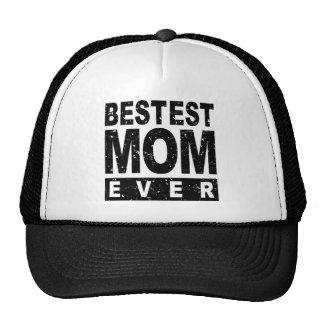 Bestest Mom Ever Mesh Hat