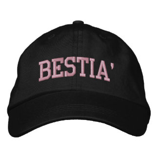 Bestia' Adjustable Hat Embroidered Baseball Caps