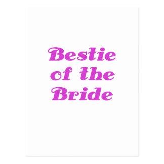 Bestie of the Bride Postcard