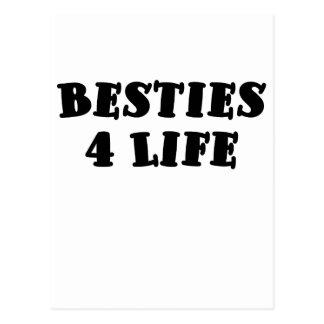 Besties 4 Life Postcard
