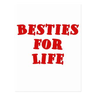 Besties for Life Postcard