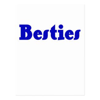 Besties Postcard