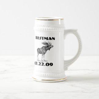 BestMan Stein - - 18 Oz Beer Stein
