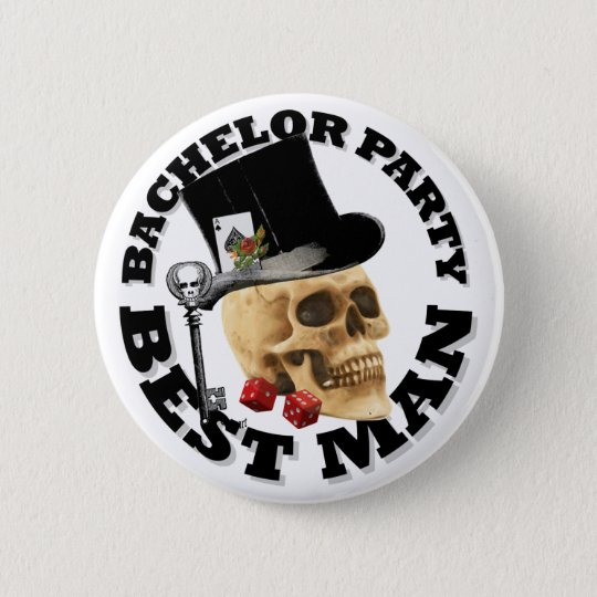 Bestmans Gothic gambling skull bachelor party 6 Cm
