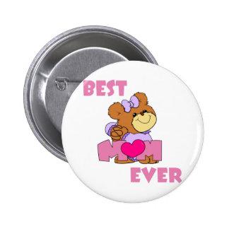BestMom 6 Cm Round Badge