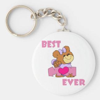 BestMom Basic Round Button Key Ring