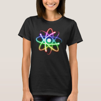 Bestseller - Colorful Glowing Atom T-Shirt
