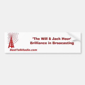 BestTalkRadio com Bumper Sticker