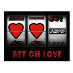 Bet on Love Post Cards