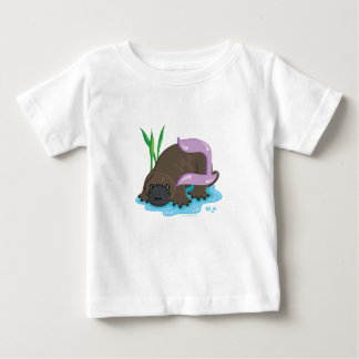 Bet the Platypus, Hebrew Aleph Bet (Alphabet) Infant T-Shirt