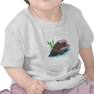 Bet the Platypus Hebrew Aleph Bet Alphabet Shirt