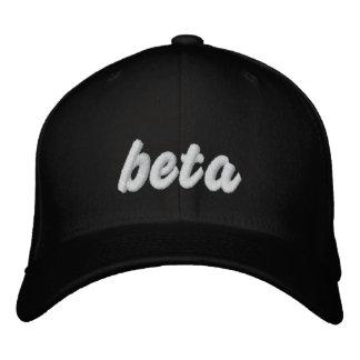 Beta blk hat embroidered hat