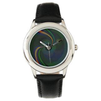 Beta Kids Stainless Steel Adjustable Bezel Watch