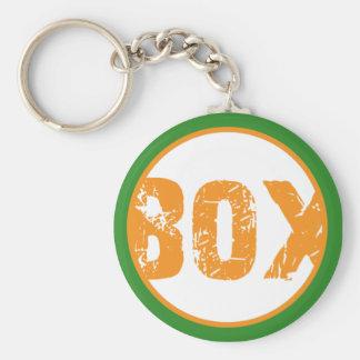 Beta Omega Chi Keychain-BOX Key Ring