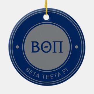 Beta Theta Pi | Badge Christmas Ornament