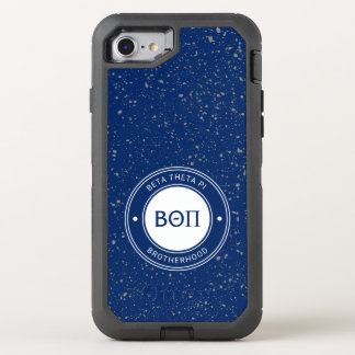 Beta Theta Pi | Badge OtterBox Defender iPhone 8/7 Case