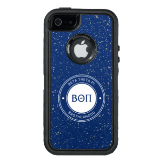 Beta Theta Pi | Badge OtterBox Defender iPhone Case