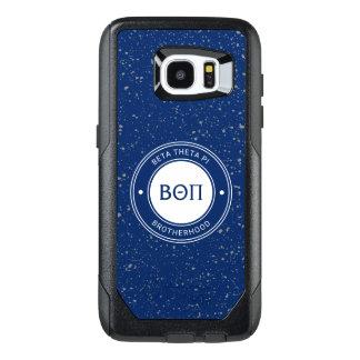 Beta Theta Pi   Badge OtterBox Samsung Galaxy S7 Edge Case