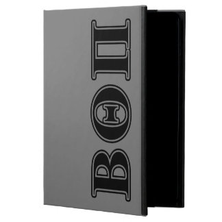 Beta Theta Pi Black Letters iPad Air Cover