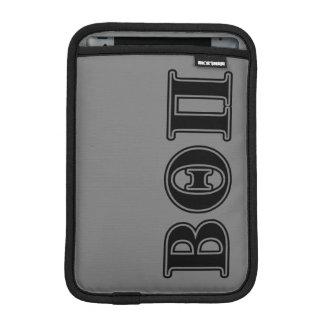 Beta Theta Pi Black Letters iPad Mini Sleeve