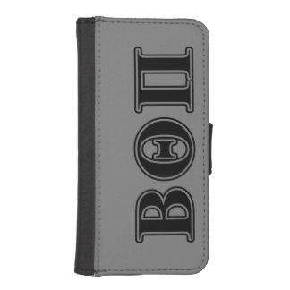 Beta Theta Pi Black Letters iPhone SE/5/5s Wallet Case