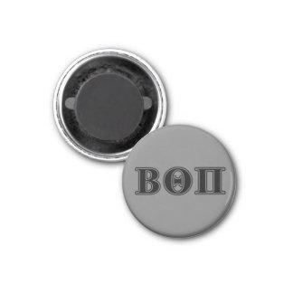 Beta Theta Pi Black Letters Magnet