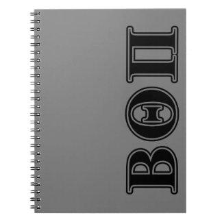 Beta Theta Pi Black Letters Notebook
