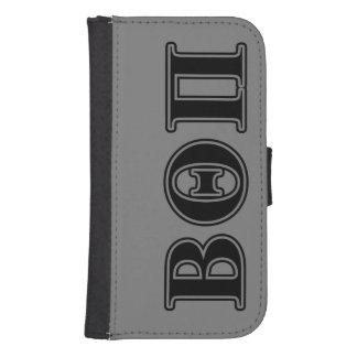 Beta Theta Pi Black Letters Samsung S4 Wallet Case