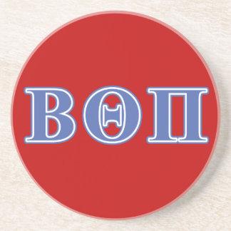 Beta Theta Pi Blue Letters Coaster