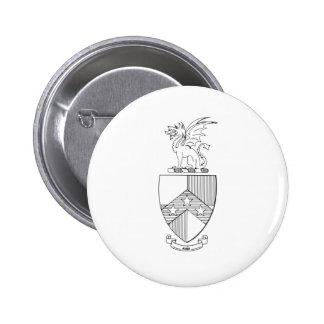 Beta Theta Pi Coat of Arms 6 Cm Round Badge