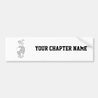 Beta Theta Pi Coat of Arms Bumper Sticker