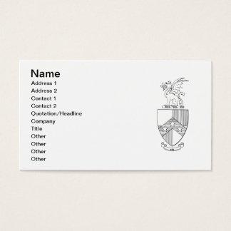 Beta Theta Pi Coat of Arms Business Card