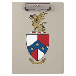 Beta Theta Pi Coat of Arms Clipboard